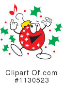 Christmas Bulb Clipart #1130523 by Johnny Sajem