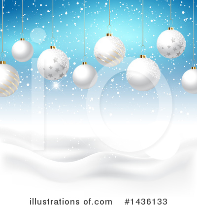 Winter Landscape Clipart #1436133 by KJ Pargeter