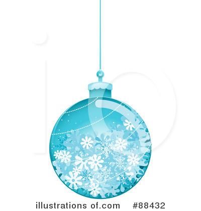 Royalty Free RF Christmas Bulb Clipart Illustration 88432 By BNP Design Studio