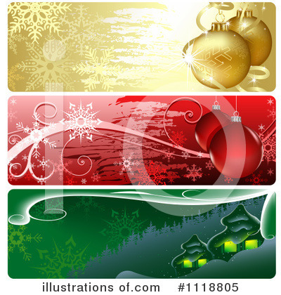 Christmas Banner Clipart #1118805 by dero