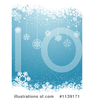 Snowflake Background Clipart #1139171 by KJ Pargeter