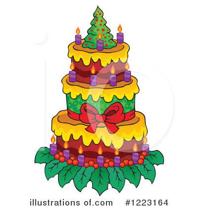Christmas Tree Clipart #1223164 by visekart