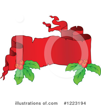 Christmas Banner Clipart #1223194 by visekart