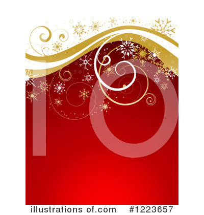 Christmas Background Clipart #1223657 by KJ Pargeter