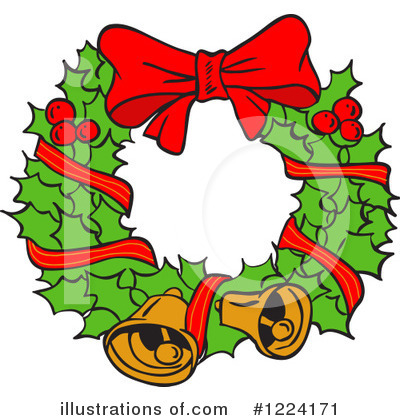 Christmas Clipart #1224171 by LaffToon