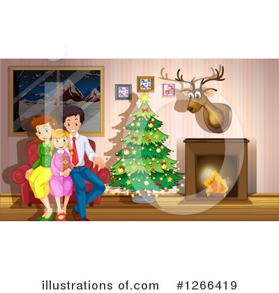 Royalty-Free (RF) Christmas Clipart Illustration by Graphics RF - Stock Sample #1266419