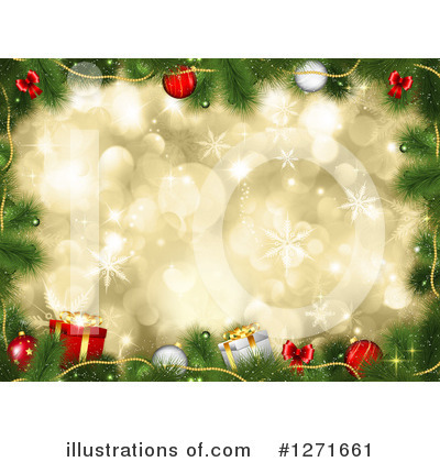 Christmas Tree Clipart #1271661 by KJ Pargeter