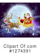 Christmas Clipart #1274391 by AtStockIllustration