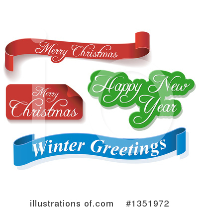 Christmas Banner Clipart #1351972 by dero