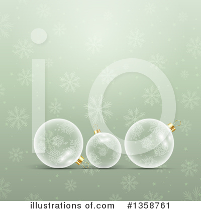 Christmas Background Clipart #1358761 by KJ Pargeter