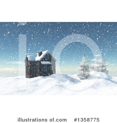 Royalty-Free (RF) Christmas Clipart Illustration by KJ Pargeter - Stock Sample #1358775