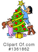Christmas Clipart #1361862 by Clip Art Mascots