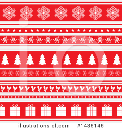Christmas Background Clipart #1436146 by KJ Pargeter