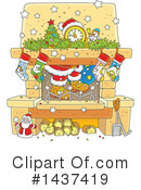 Christmas Clipart #1437419 by Alex Bannykh
