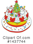 Christmas Cake Clipart #79233 - Illustration by Melisende Vector
