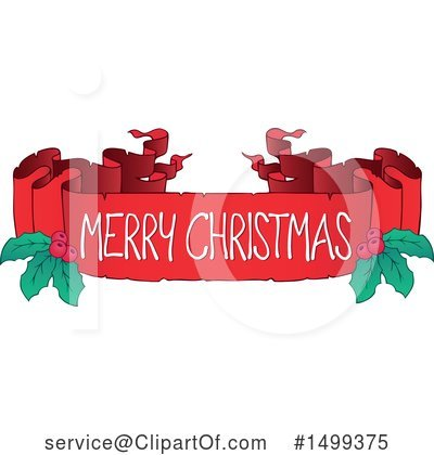 Royalty-Free (RF) Christmas Clipart Illustration by visekart - Stock Sample #1499375