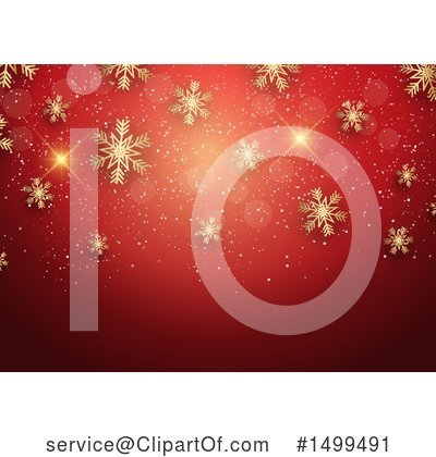 Christmas Background Clipart #1499491 by KJ Pargeter