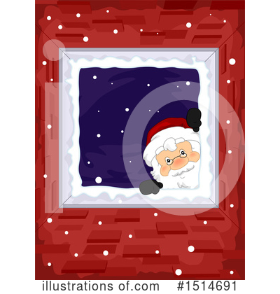 Santa Clipart #1514691 by BNP Design Studio