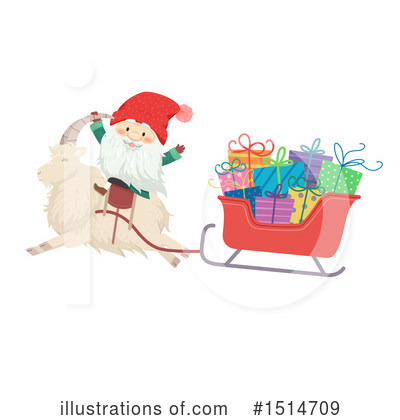 Santa Clipart #1514709 by BNP Design Studio
