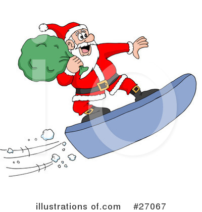 Christmas Clipart #27067 by LaffToon