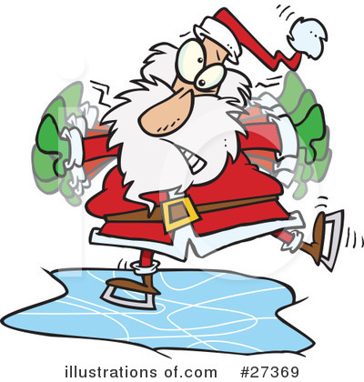 Santa Clipart #27369 by toonaday