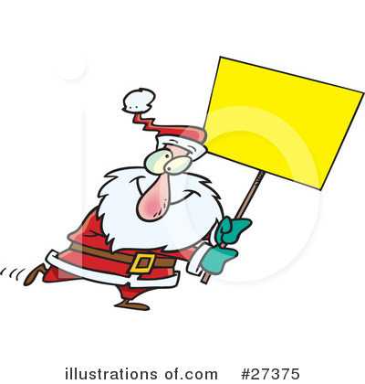 Santa Clipart #27375 by toonaday