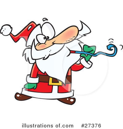 Santa Clipart #27376 by toonaday