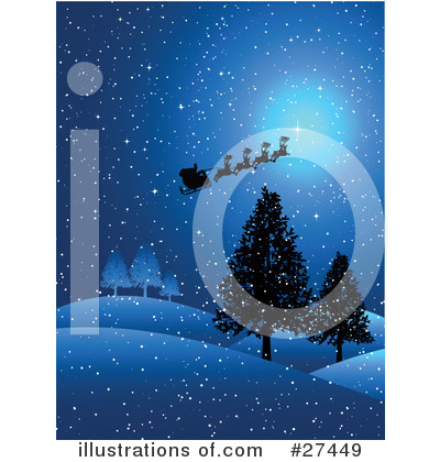 Royalty-Free (RF) Christmas Clipart Illustration by KJ Pargeter - Stock Sample #27449