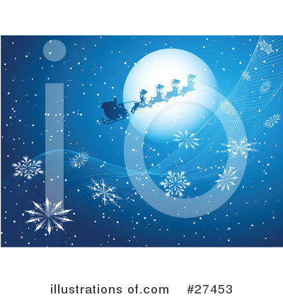 Royalty-Free (RF) Christmas Clipart Illustration by KJ Pargeter - Stock Sample #27453