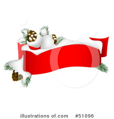 Christmas Banner Clipart #51096 by dero