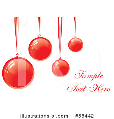 Christmas Greeting Clipart #58442 by MilsiArt