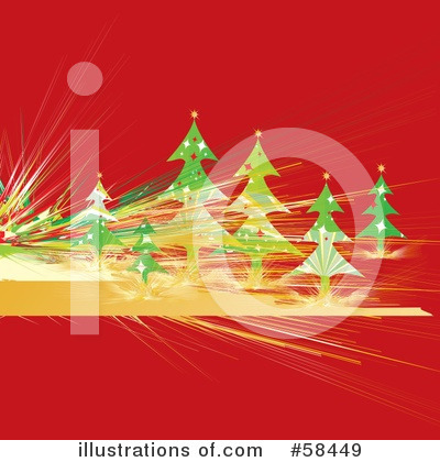 Christmas Tree Clipart #58449 by MilsiArt