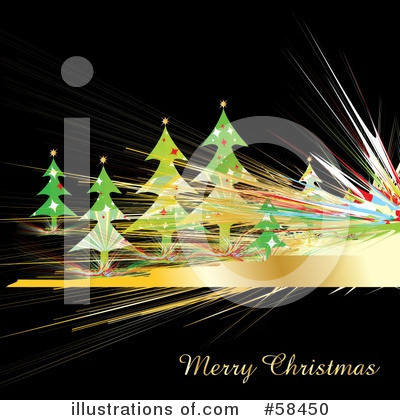 Christmas Greeting Clipart #58450 by MilsiArt