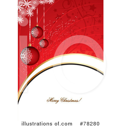 Christmas Greeting Clipart #78280 by MilsiArt