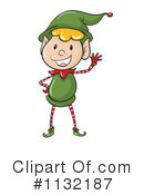 Christmas Elf Clipart #1132187 by Graphics RF