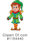 Christmas Elf Clipart #1154440 by visekart