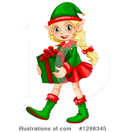 christmas elf clipart 1266345 illustration by graphics rf rh illustrationsof com cute christmas elves clipart christmas elves images clip art