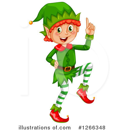 christmas elf clipart 1266348 illustration by graphics rf