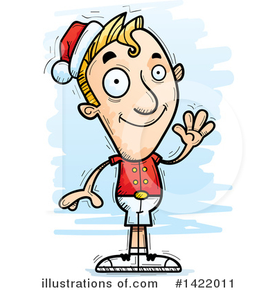 Elf Clipart #1422011 by Cory Thoman