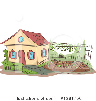 House Clipart #1291756 by BNP Design Studio