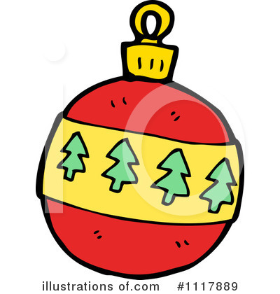 Christmas Ornament Clipart #1117889 - Illustration by lineartestpilot