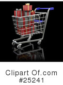 Christmas Shopping Clipart #25241 by KJ Pargeter