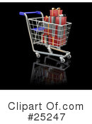Christmas Shopping Clipart #25247 by KJ Pargeter