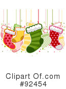 Christmas Stocking Clipart #92454 by BNP Design Studio
