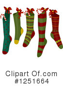 Christmas Stockings Clipart #1251664 by BNP Design Studio