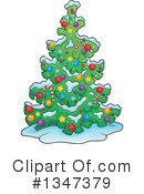 Christmas Tree Clipart #1347379 by visekart