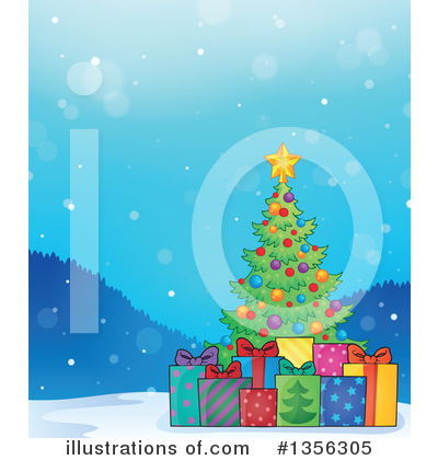 Christmas Tree Clipart #1356305 by visekart