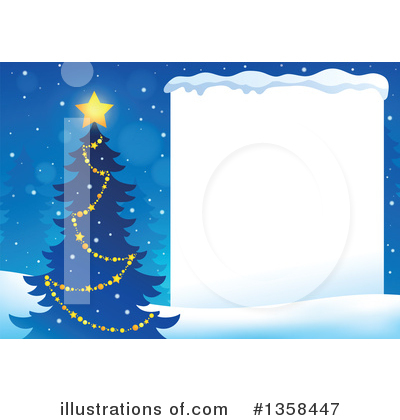 Christmas Tree Clipart #1358447 by visekart