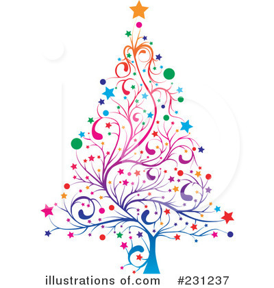 Christmas Tree Clipart #231237 by MilsiArt
