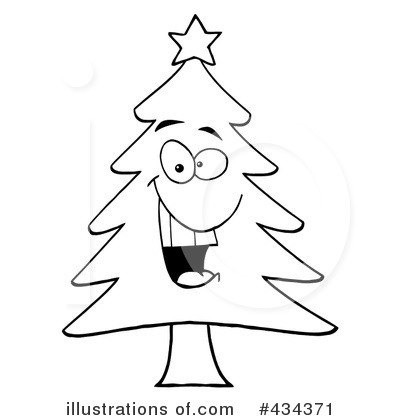 Christmas Tree Clipart 434371